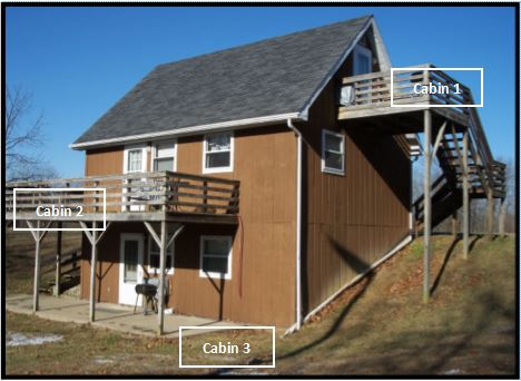 New Cabin - Clark County Park District - Mill Creek Lake